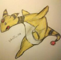 181 - Ampharos by pokefan444