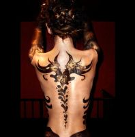 Body Paint Back by KCMussman