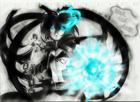 Black Rock Shooter EDITED! by starz8zstar