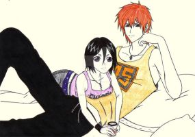 IchiRuki: Summer Afternoon by AngyValentine