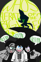 MusicChallenge - Who's Afraid Of The Big Bad Wulf? by stickynotelover