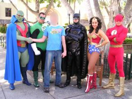Gold Coast Movie World Justice League Characters 2 by renstar71