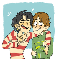 Sam and Charlie by northpines