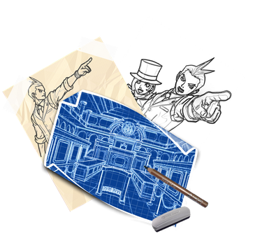Old Apollo Justice Pixelmator Blueprint Tutorial by DaWooster