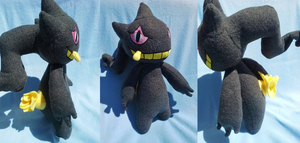 Banette Plush Commission by Sparkle-And-Sunshine