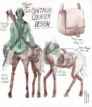 Centaur Design by The-Mekgineer