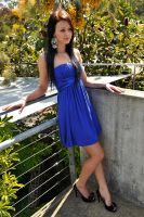 Tara - blue formal dress 3 by wildplaces