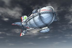 zeppelin background 3 by indigodeep