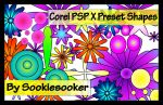 30 Corel PSP X Preset Shapes by sookiesooker