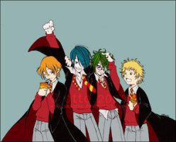 The Marauders by porotto by Remus-Lupin-Fanclub