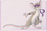 Not a Karate Rat by colonel-strawberry