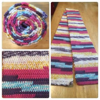 Summertime Funtime Scarf by A-Passionate-Flame