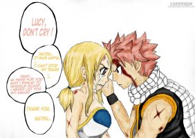 Dont cry Lucy! by lucechan