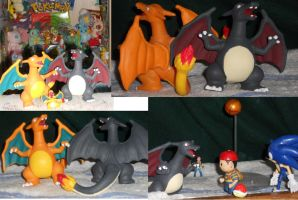 Shining Charizard figure by Mastershambler