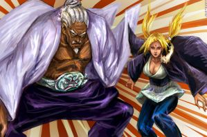 Naruto 540 - Pwning Squad by jesterry