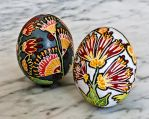 Flower Easter Eggs - Pysanky by SRTolton