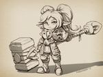 Simple Reworked Poppy by Nestkeeper