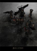 Concept - Gun Crews by Jalingon3011