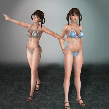 Dead or Alive 5 Leifang Bikini Alt by ArmachamCorp