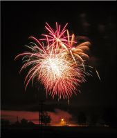 Canfield Fireworks 2009 9 by WDWParksGal-Stock