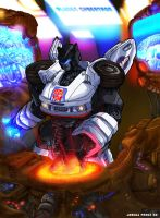 Jazz Live at Planet Cybertron by dyemooch