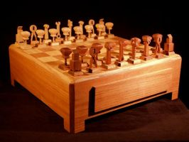 Tool chess by Sawdust013