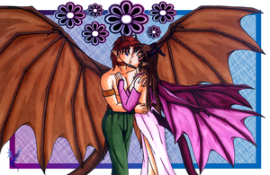 Dragon Romance by aoi-ryu