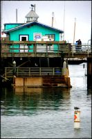 Cloudy Day at the Wharf by jltrafton