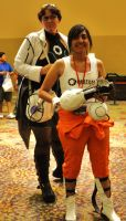 Phoenix Comicon 2011 Chell by Recycledhero
