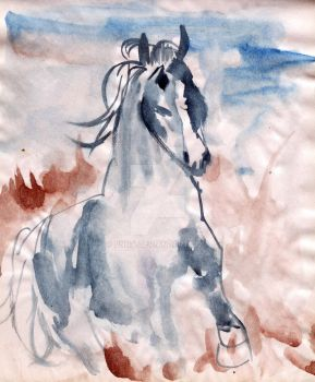 watercolor work by pnna