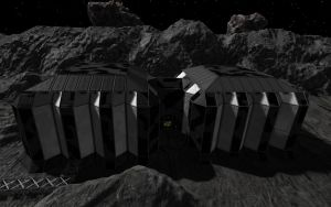 Space Engineers - Reactor Building Finished by Shroomworks