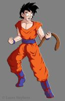 Goten - FINAL Colored by lauraneato