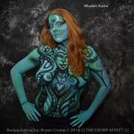 Geiger Inspired Bodypaint by thebryancrump