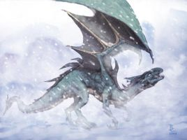 Ice Dragon by BEN-BEN-BEN