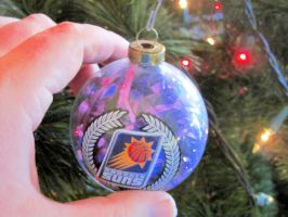 2000's Phoenix Suns Logo Ornament by BigMac1212