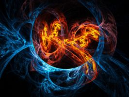 Chaos: Fire and Ice IV by vii2tigo