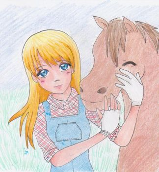 HarvestMoon: Clare by zenil-kay