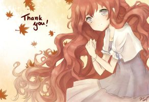 Thank you~ by Sternenmelodie