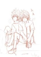 KH: Ven and Roxas by yoruven