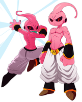 Kid Buu by ss2sonic