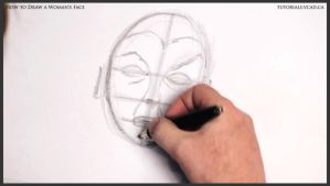 How to Draw a Woman's Face 009 by drawingcourse