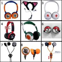 Anime earphone by gamerma