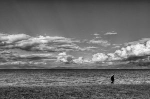 A walk alone by NickKoutoulas