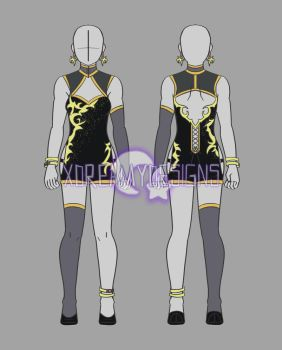 Clothing Adopt Auction: Female Outfit 19 (CLOSED) by xDreamyDesigns