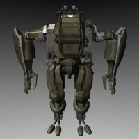 Starship Troopers Ape Marauder by bcampo