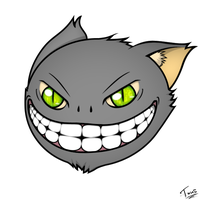 Chesire Cat by TxusMetal4ever