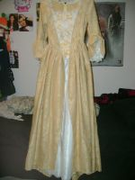 Elizabeth Swann Dress WIP 1 by CaptainTorrez