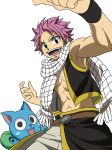 Natsu and Happy by BrandiHumphries
