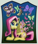 Fluttershy's Butterflies by Dahtamnay