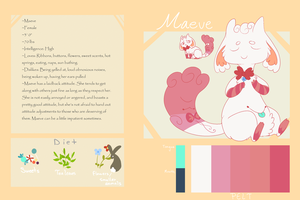 Maeve Simple Ref by ChainsawTeaParty